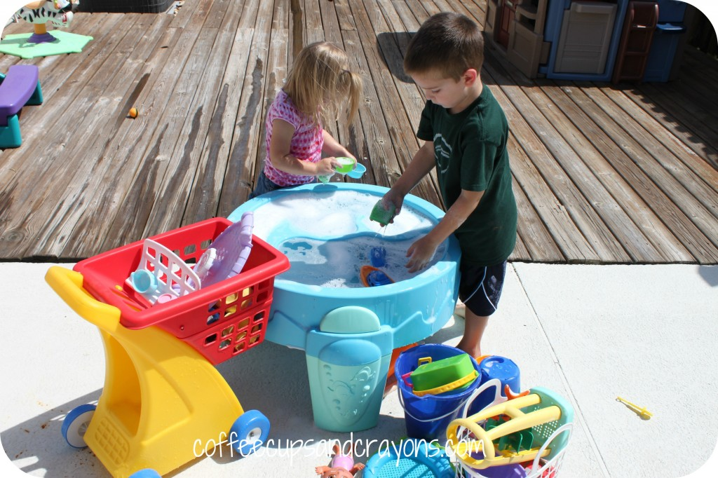 Toy Car Wash Kids Activity!