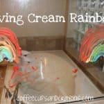 Shaving Cream Rainbows