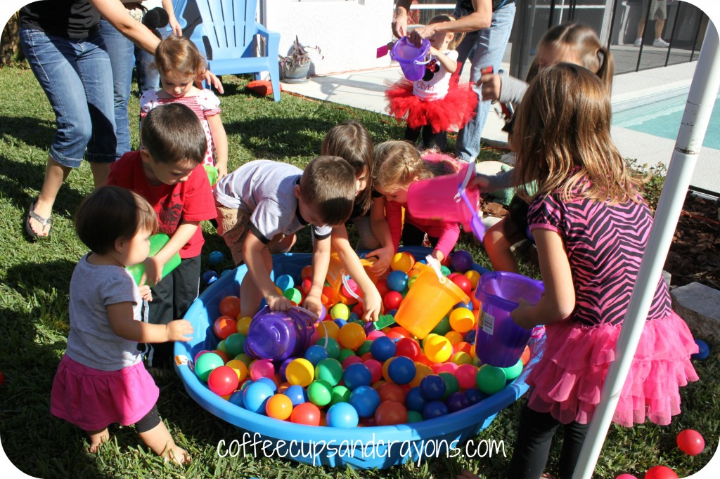 Then They Had To Find Plutos Dog Collar That Fallen Into His Dish Otherwise Known As A Kiddie Pool Filled With Ball Pit Balls