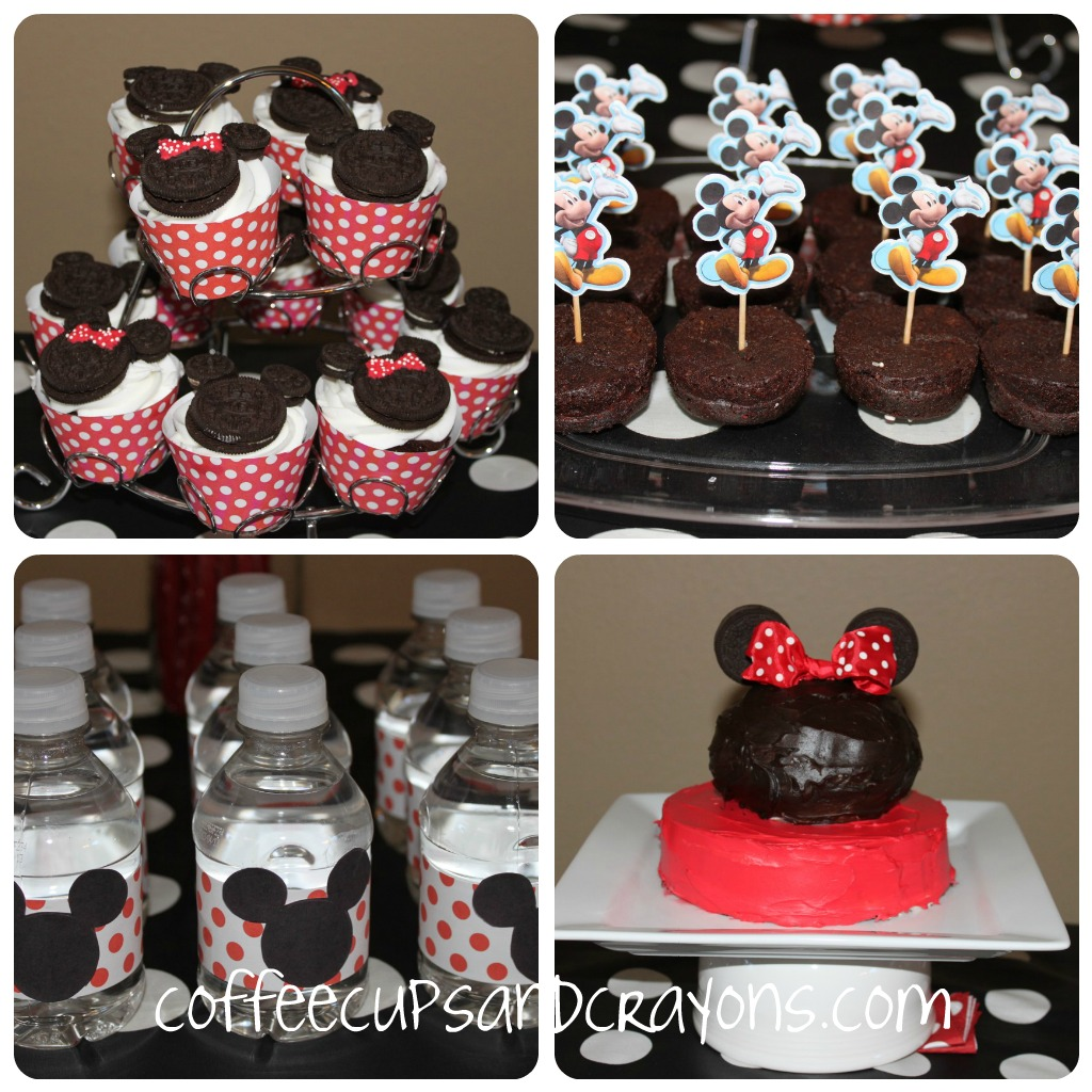 Astounding Mickey And Minnie Food And Dessert Ideas Coffee Cups And Crayons Personalised Birthday Cards Epsylily Jamesorg