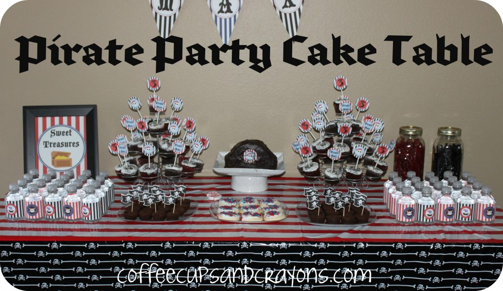 Pirate Party Ideas Coffee Cups And Crayons