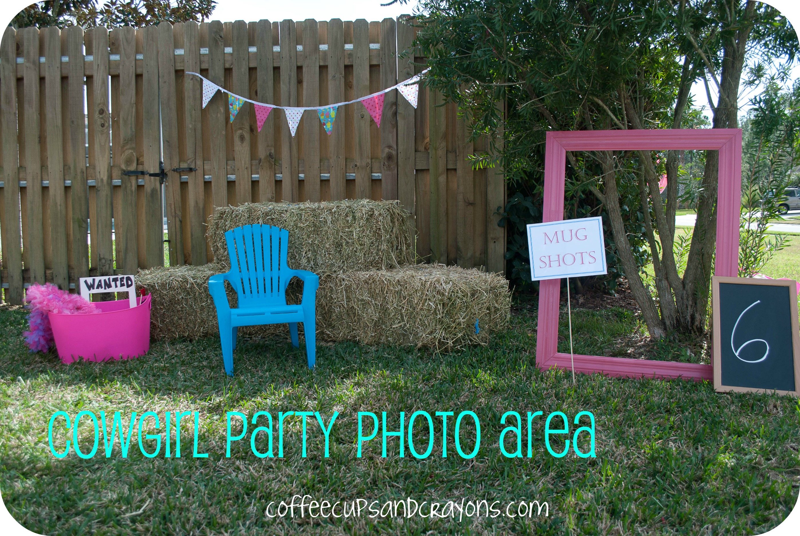 Western Theme Party Decoration Ideas Part - 46: Coffee Cups And Crayons