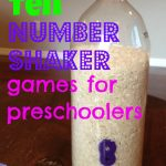 10 Fun Number Shaker Games for Preschoolers!