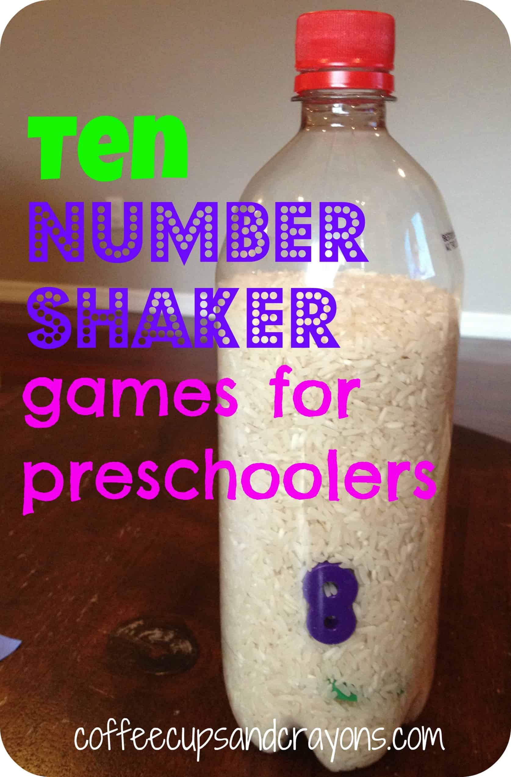 10 Fun Number Shaker Games For Preschoolers