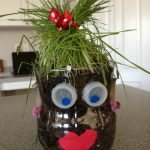 Upcycled Soda Bottle Planter