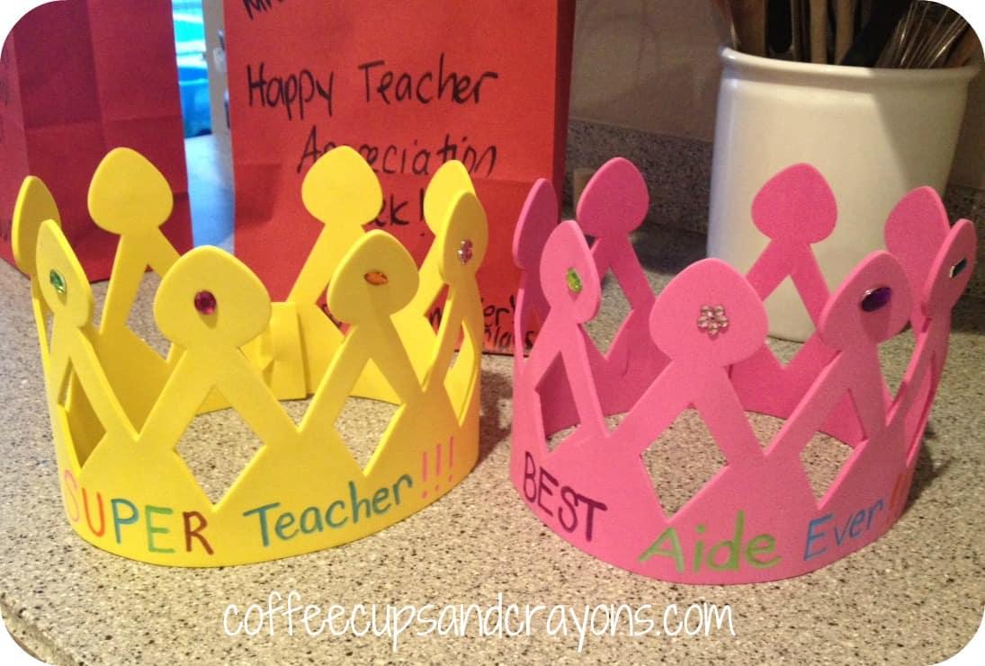 Happy Teacher Appreciation Week Coffee Cups And Crayons