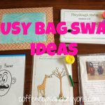 Busy Bag Swap Ideas for Kids