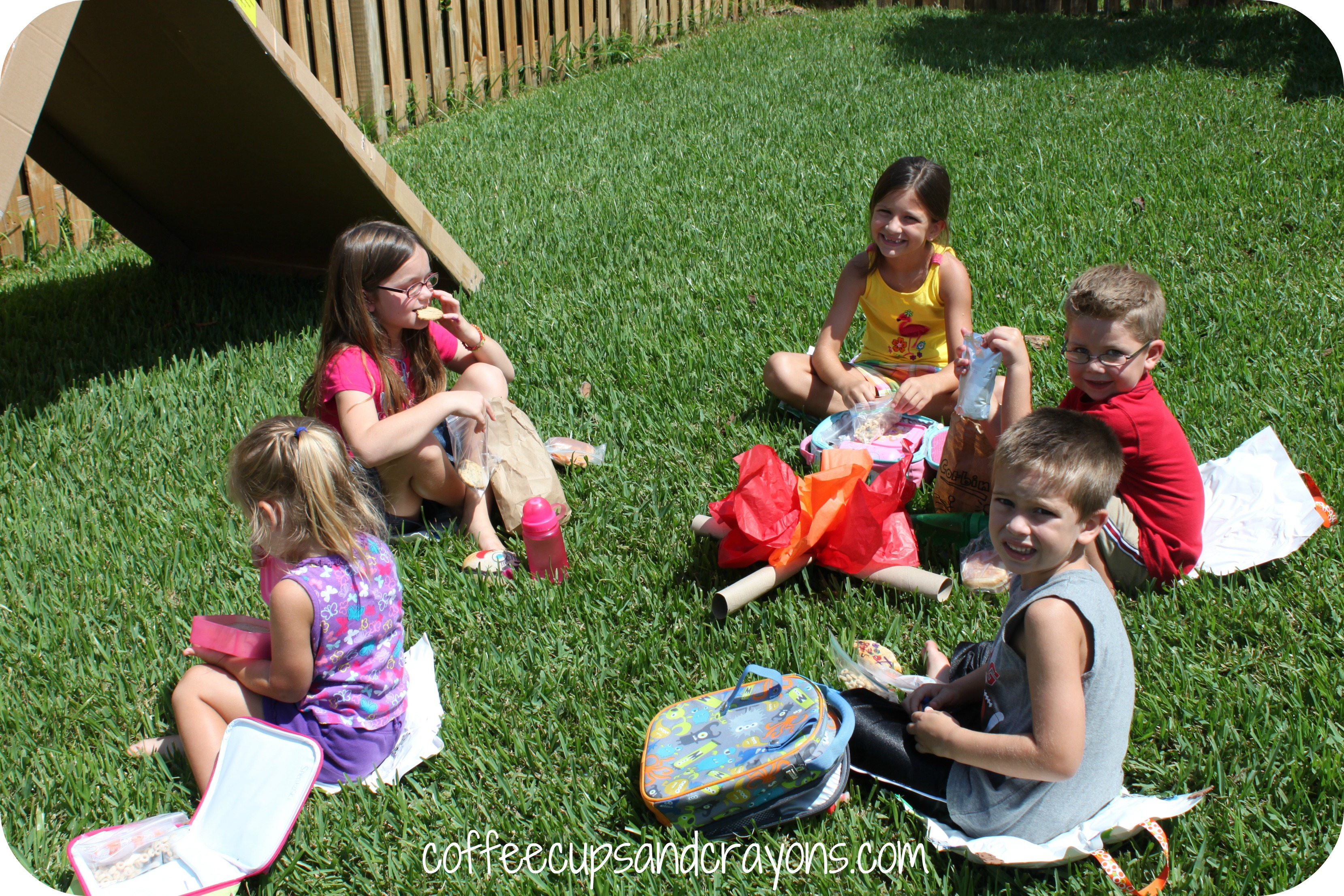 Camping Themed Kids Activities