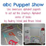 Create an Alphabet Puppet Theater