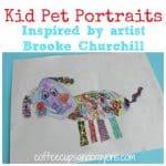 Kid Drawn Pet Portraits