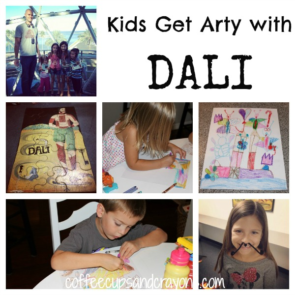 Kids Art Activities: Discovering Dali