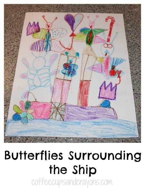Fun Kids Art Project in the Style of Dali