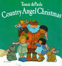 Country Angel Christmas book by Tomie dePaola
