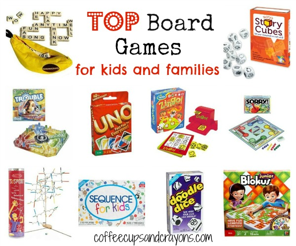 Top Board Games for Kids and Families