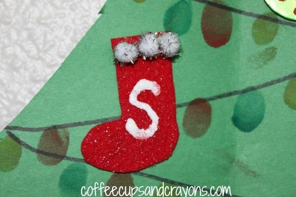 How to Make a Felt Stocking Ornament
