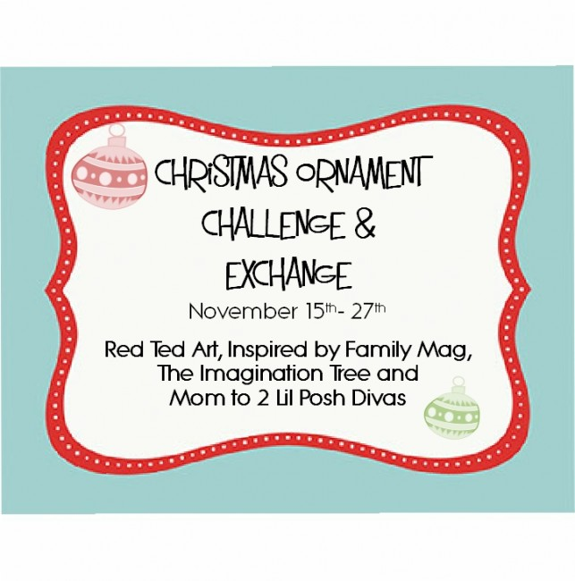 Christmas Fun: Holiday Ornament Exchange | Coffee Cups and Crayons