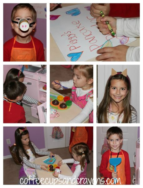 Piggy's Pancake Parlor Book Activities for Children