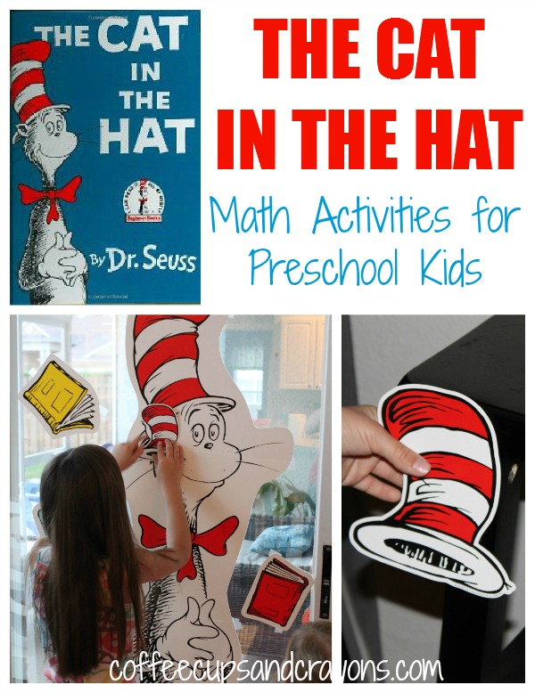Cat in the Hat Math Activities for Preschool