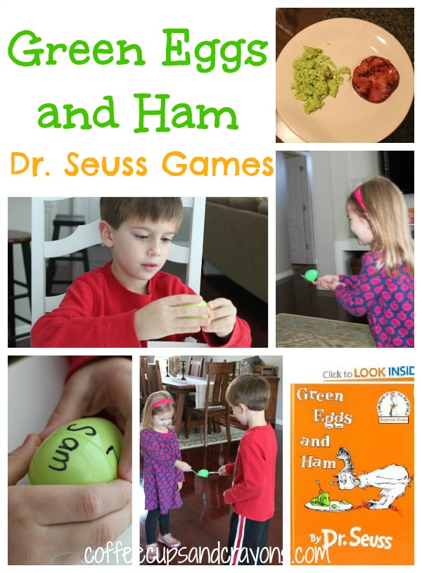 Green Eggs And Ham Dr Seuss Games Activities