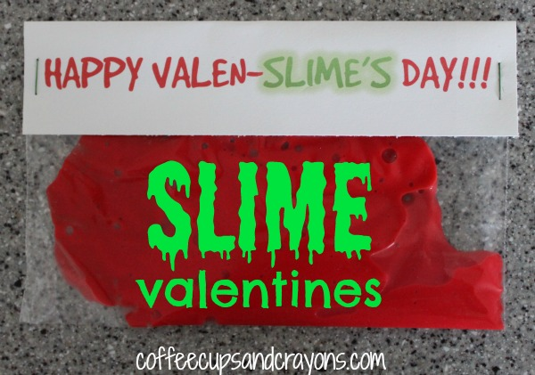 Slime Valentines for Kids