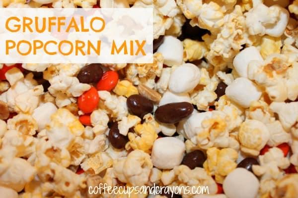 Gruffalo Popcorn Mix
