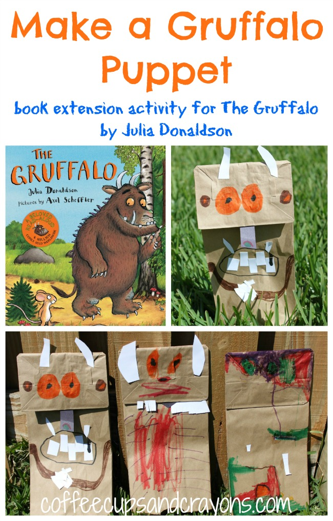 Make Your Own Gruffalo Puppet Activity