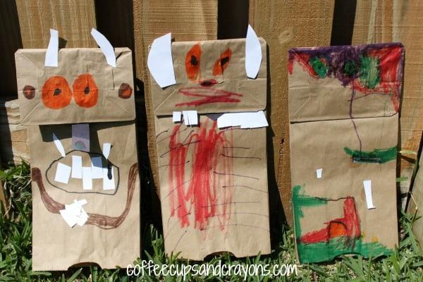 The Gruffalo Book Puppets