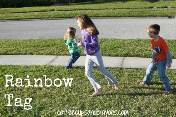 Rainbow Tag and Other Outdoor Preschool Games