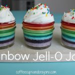 Rainbow Jell-O in a Jar Recipe