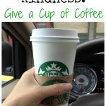 Acts of Kindness: Give a Cup of Coffee