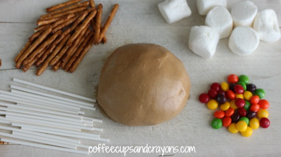 Edible Play Dough Invitation to Play with Food