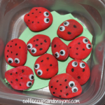 Busy Bag Activities for Preschoolers: Ladybug Math Game