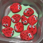 Busy Bag Activities for Preschoolers: Ladybug Math Game