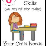 Three Independent Skills Your Child Needs for Kindergarten