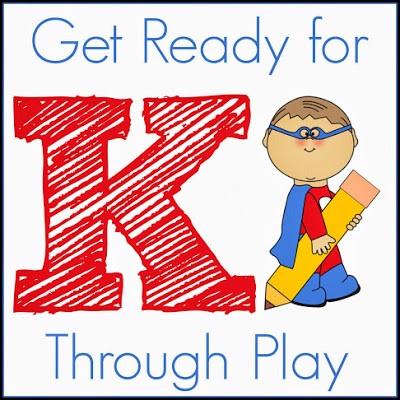 Get Ready for K Through Play Series! A fun way to develop the kindergarten readiness skills your child needs to school. Check out the weekly posts by a group of top kid bloggers!