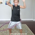 Craft for Kids: Duct Tape Hula Hoop