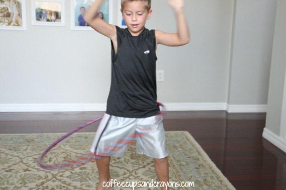 Kids Craft: Duct tape hula hoop!