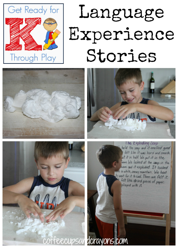 Language Experience Stories: Get Ready for K Through PLAY!