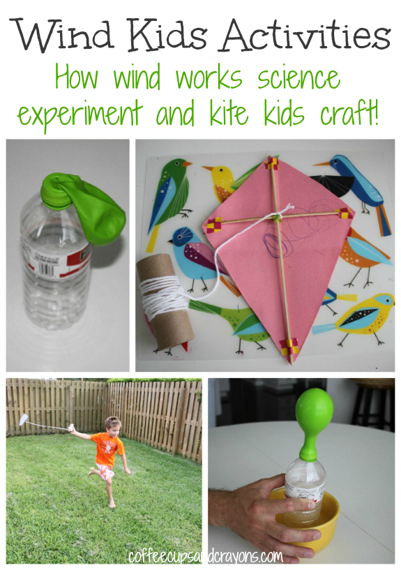 Wind Activities for Kids Kite Craft and Science Experiment
