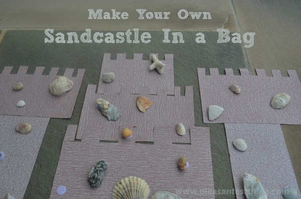 Make Your Own Sand Castle Busy Bag