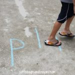 Gross Motor Phonics Game: Walk the Word