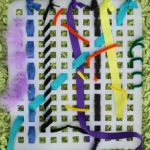 Fine Motor Weaving Busy Bag