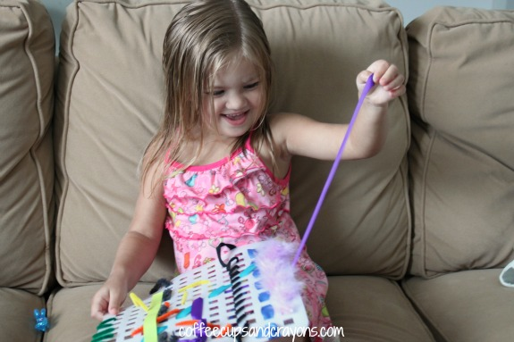 Fine Motor Skills Weaving Busy Bag