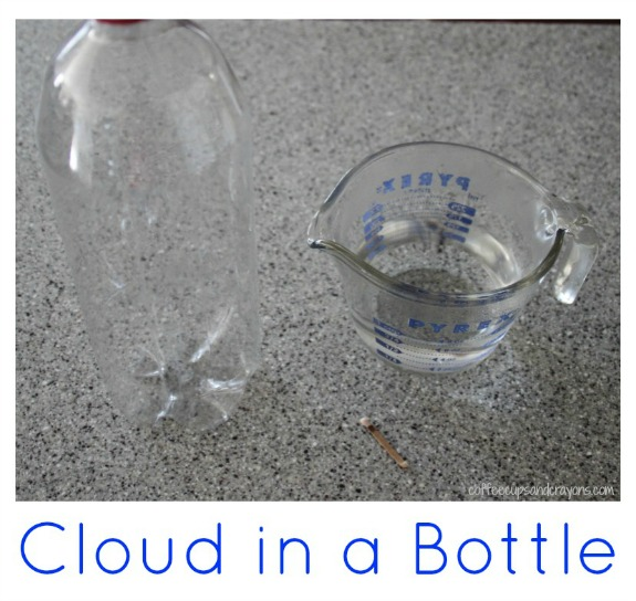 How to make a cloud in a bottle!