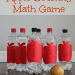 Apple Bowling Math Counting Game