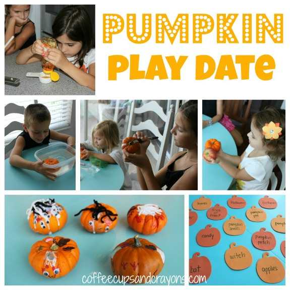 Pumpkin Themed Play Date Ideas