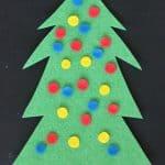 Christmas Tree Decorating Felt Busy Bag