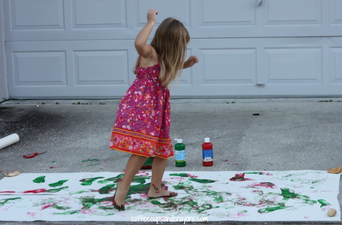 Freeze Dance Painting!  This is such a fun way to get moving while exploring art and music!