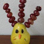 Thanksgiving Fruit Turkey Snack for Kids