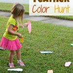 Turkey Color Hunt and Math Pattern Activity
